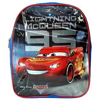 Disney Pixar® Cars 3 Official Lightning McQueen 95 Junior Backpack Boys  Girls Unisex Back To ... be38fed97f87d