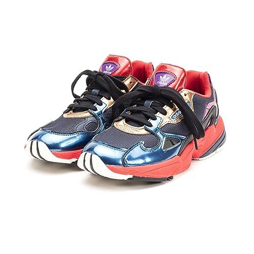 new arrival a49df 03cee adidas Falcon W, Scarpe da Fitness Donna, Multicolore Maruni Rojo 000, 36