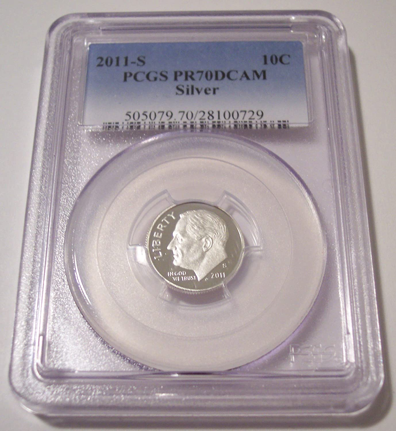 2014 S 10c Roosevelt Silver Dime US Coin Choice Proof