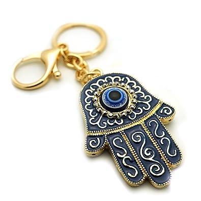 Amazon.com: Teri del boutique Azul Evil Eyes Buena Suerte ...