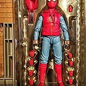 Amazon.com: Tamashii Girls S.H. Figuarts Spider-Man (traje ...