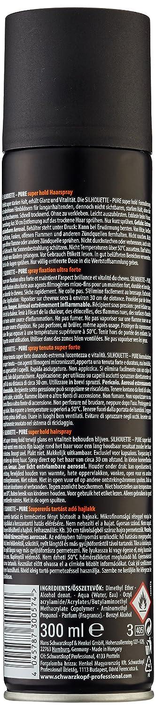 SILHOUETTE hairspray super hold 300 ml Henkel Professional 18352 1938966_-300ml