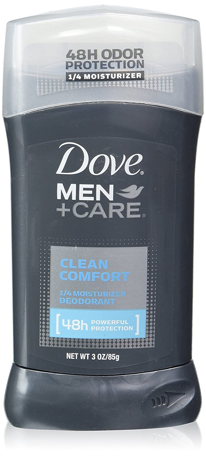 Dove Men+Care Deodorant Stick Clean Comfort 3 oz(Pack of 4)