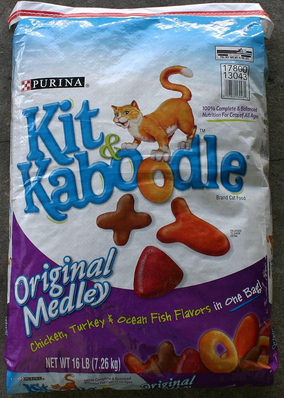 Amazon.com : PURINA 178069 Kit N Kaboodle Food for Pets, 16-Pound ...