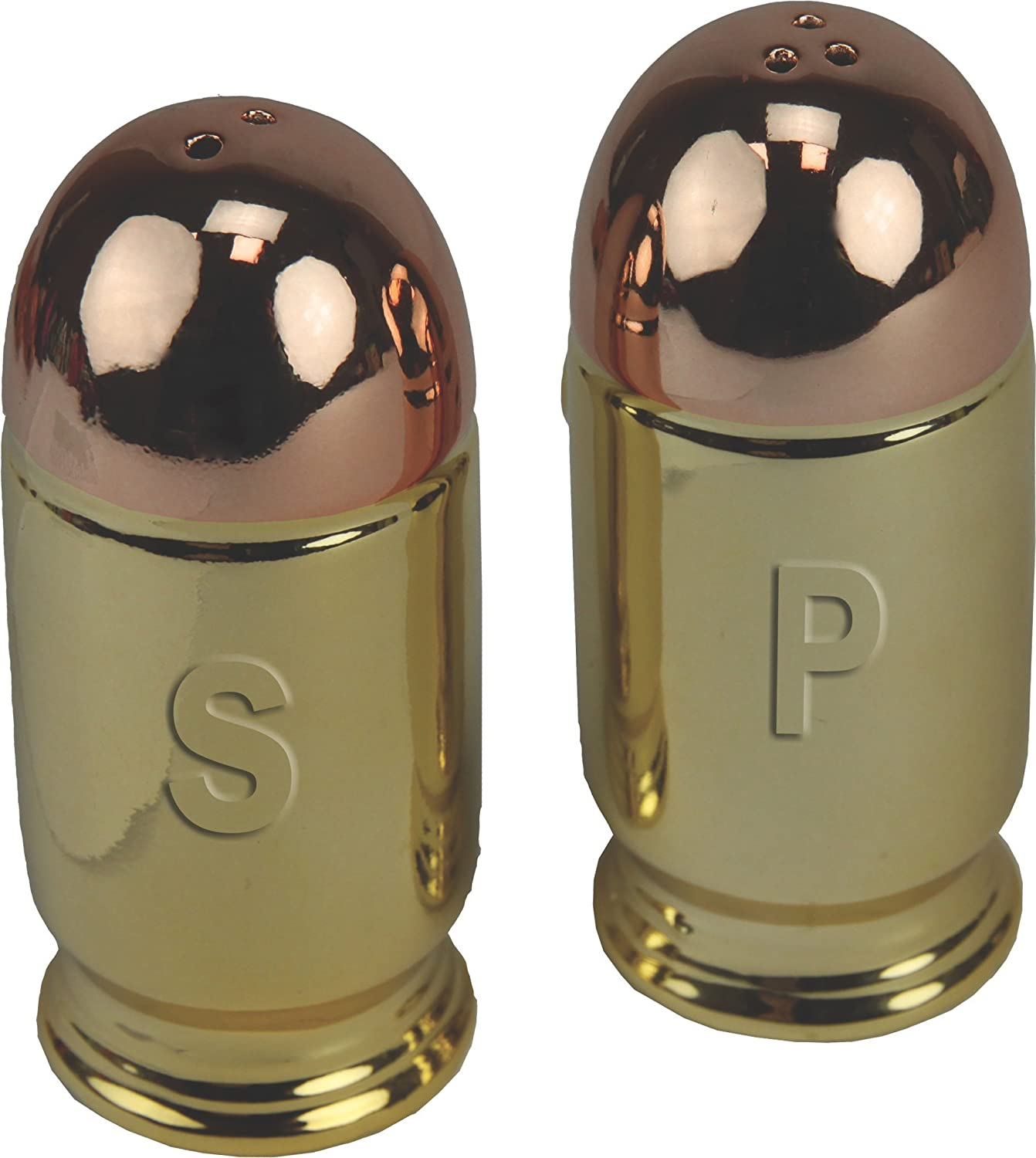 Rivers Edge Products Bullet Salt /& Pepper Shaker Set