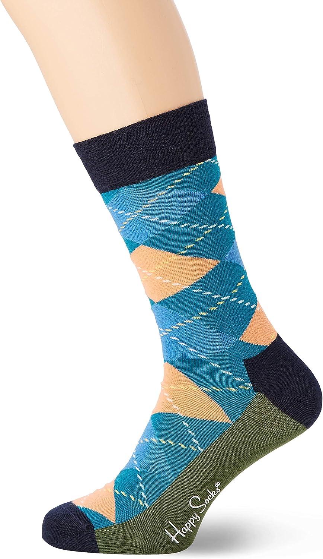 Happy Socks Argyle Sock Calcetines, Multicolor (Multicolour 730 ...