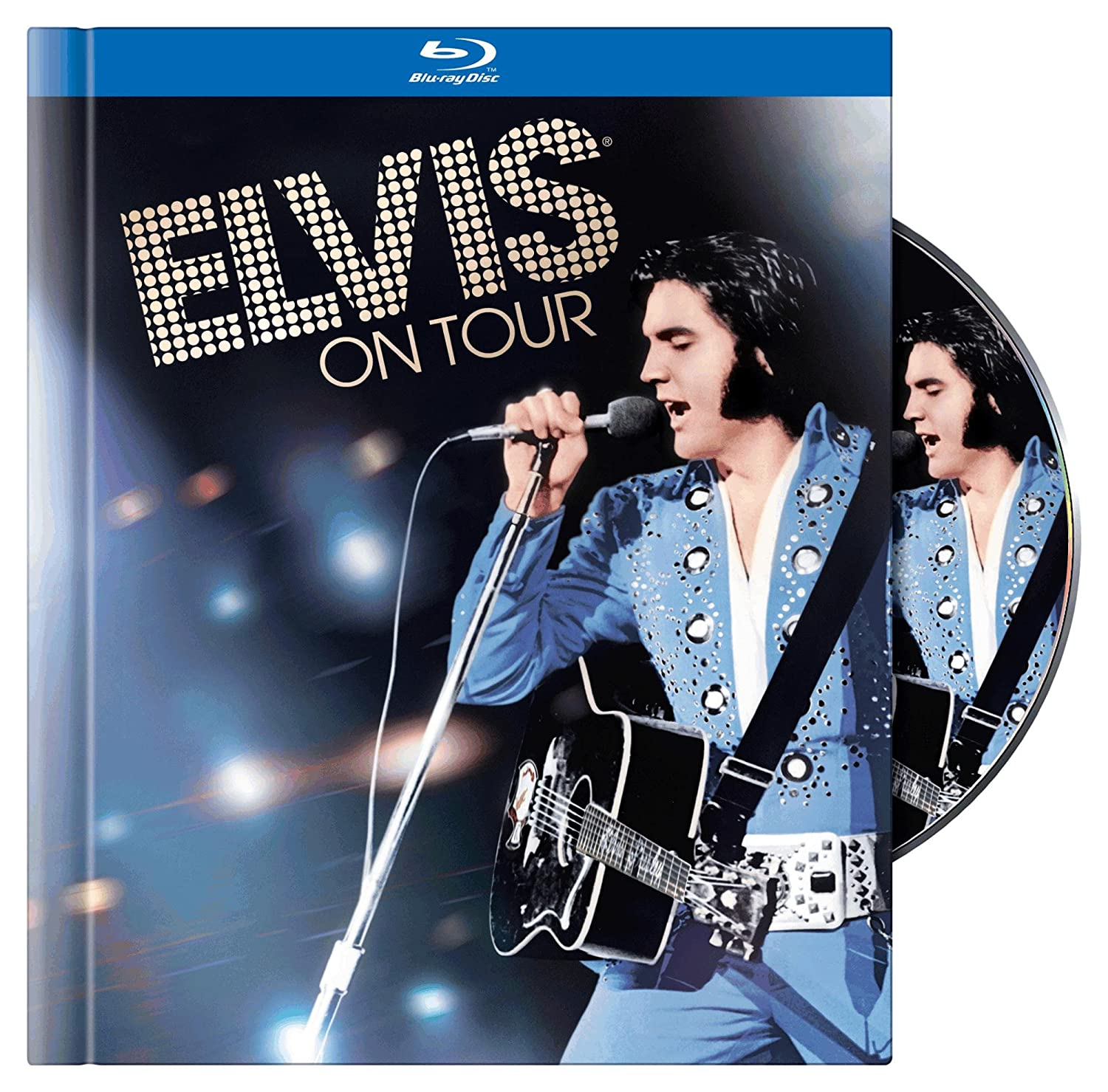 Elvis on Tour (Blu-ray Book)