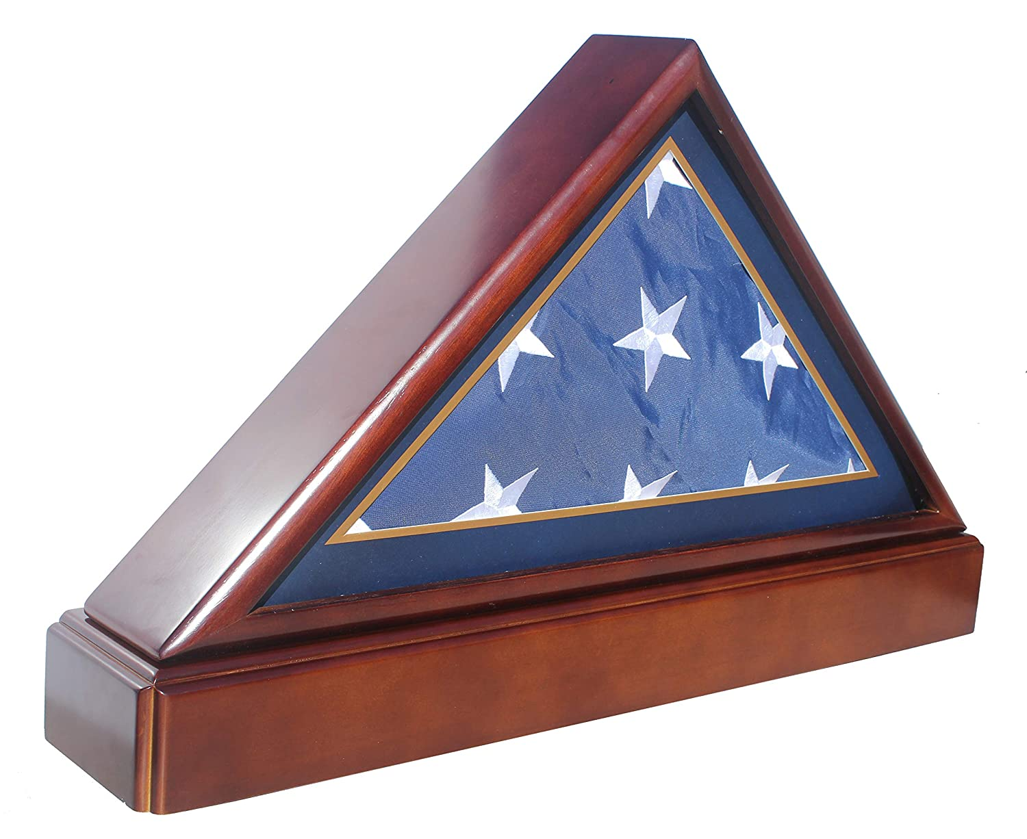 Burialfuneral Flag Display Case Frame Military Shadow Box With