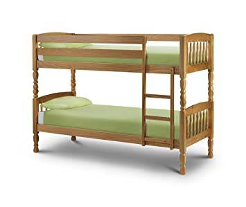 Julian Bowen Lincoln Single Bunk Bed Amazon Co Uk Kitchen Home