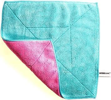 Microfasertuch Türkis Pink Drogerie Körperpflege