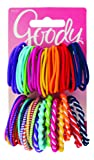 Amazon Price History for:Goody Girls Ouchless Elastic Hair Ties, No-metal, 60 count, Assorted Colors