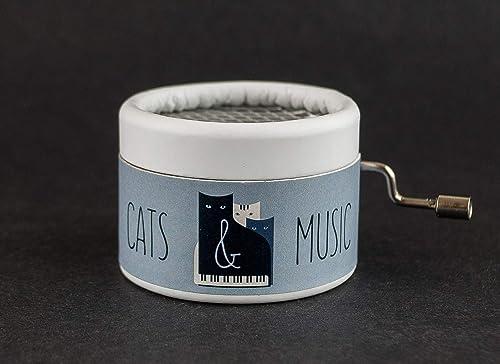 Caja musical Cats & Music. El regalo perfecto para los amantes de ...