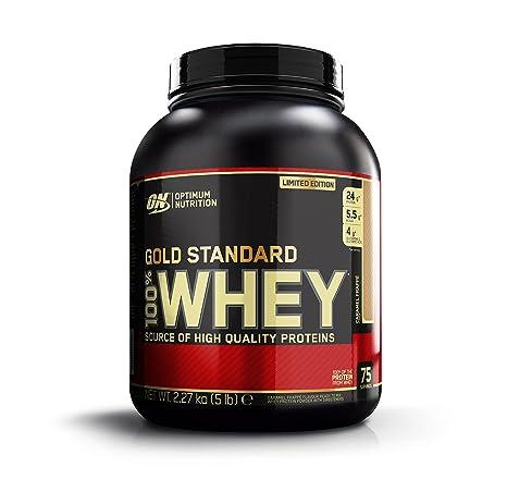 OPTIMUN NUTRITION 100% WHEY GOLD STANDARD - 2,27 KG - Sabor - Caramel Frappe