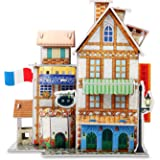 3D Puzzle Jigsaw Educational toys DIY for kids Hotel 32-piece