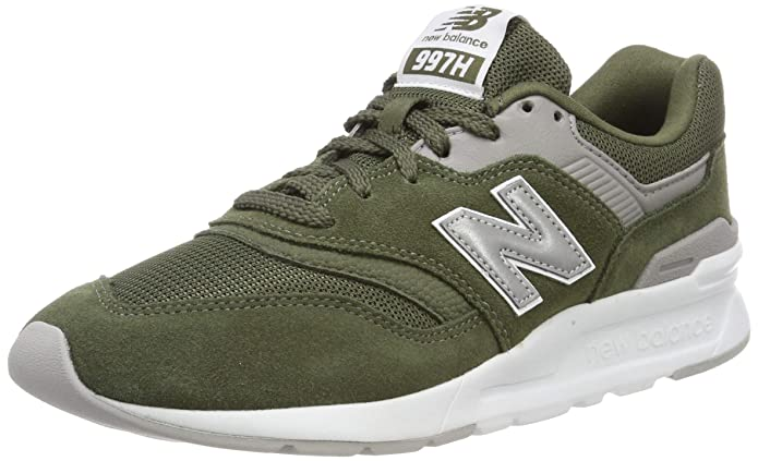 New Balance 997H Core Sneaker Herren Grün (Dark Covert Green/Silver)