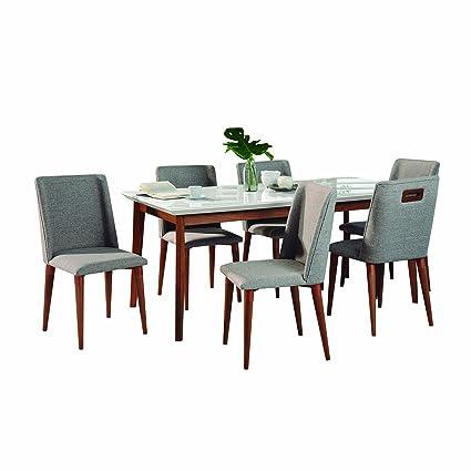 amazon com manhattan comfort 2 10119511011653 lillian tampa large rh amazon com dining room tables cheap dining room tables craigslist