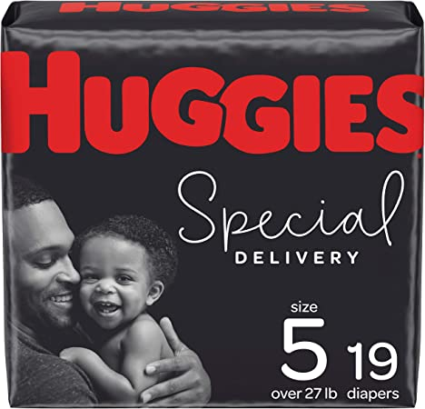 Huggies Special Delivery Hypoallergenic Baby Diapers, Size 5, 19 Ct