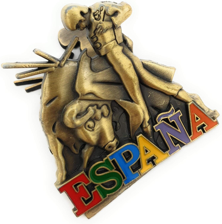 MovilCom® - iman Nevera| Figuras magneticas | imanes Nevera Personalizados de España | diseño Exclusivo Recuerdo de España (Mod.006): Amazon.es: Hogar