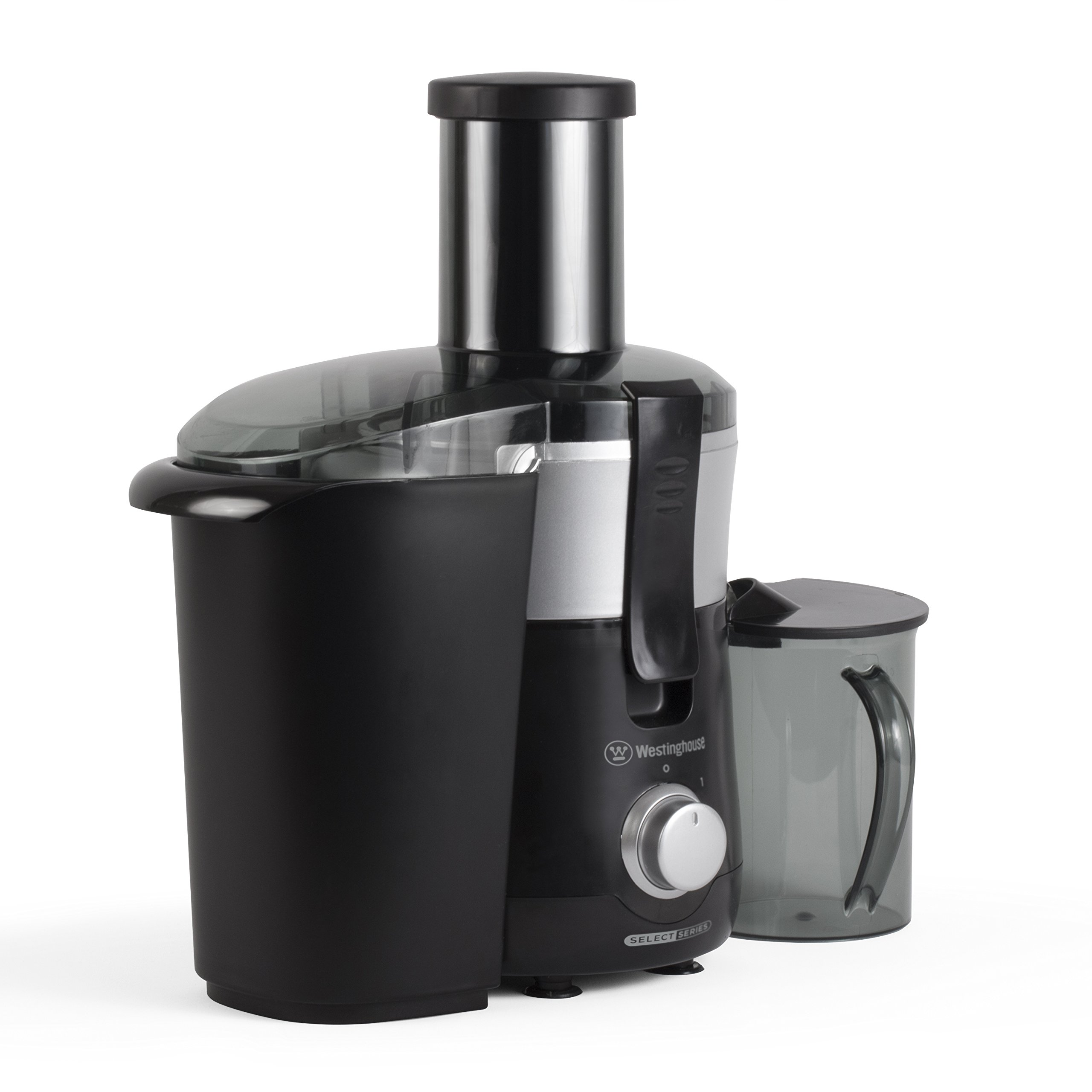 Westinghouse COMINHKPR100901 WJE2BSLA Select Series 2 Speed Fruit & Vegetable Juice Extractor with Custom Pitcher, Black by Westinghouse (Image #6)