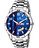FF8101-BL Blue Printed Day & Date Boys Watch - for Men