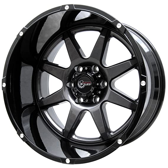 Amazon Com Rugged Tuff Rt800 20 Wheels Rims Set 20x12 6x139 7 6x5
