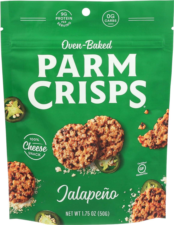 ParmCrisps, Jalapeno, 1.75 Ounce Bag