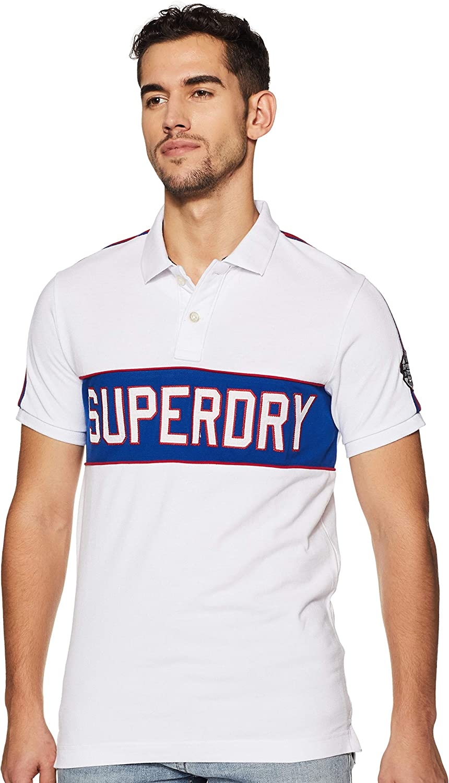 Polo Superdry con Aplicación Decorativa Retro para Hombre: Amazon ...