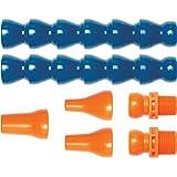 """Loc-Line Coolant Hose Assembly Kit, Acetal Copolymer, 7 Piece, 1/2"""" Coolant Hose ID"""