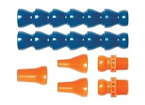 """Loc-Line Coolant Hose Assembly Kit, Acetal Copolymer, 7 Piece, 1/4"""" Coolant Hose ID"""