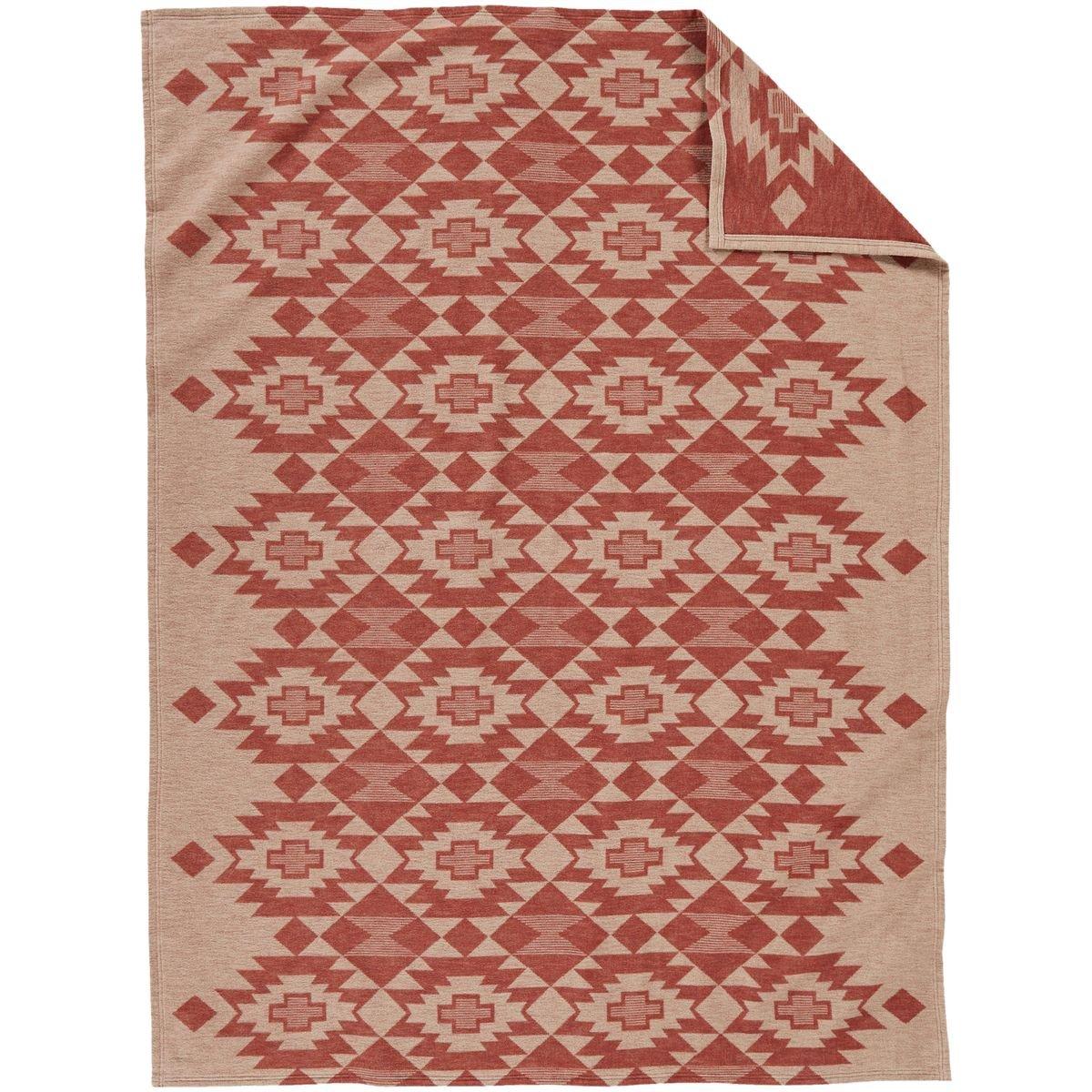 Pendleton Yuma Star Clay Organic Cotton King Blanket