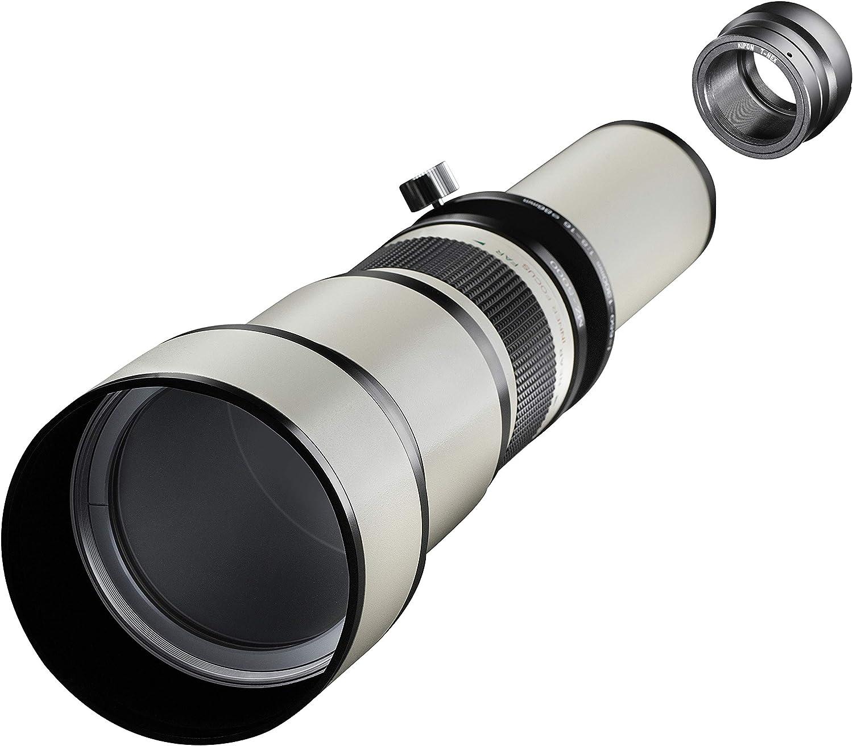 Samyang MF - Cámara réflex Digital (650-1300 mm, F8.0-16.0, Sony E ...