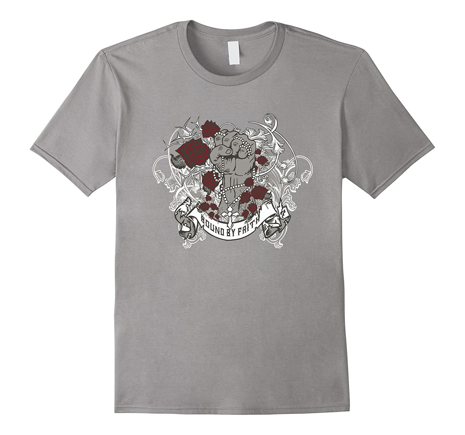Bound By Faith T Shirts For Women Graphic Tee For Men-Art