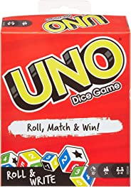 UNO: Dice Game with Dry Erase Boards and Markers
