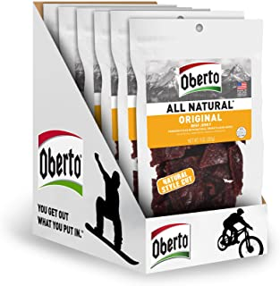 product image for Oberto All Natural Beef Jerky, Original, 54 Ounce