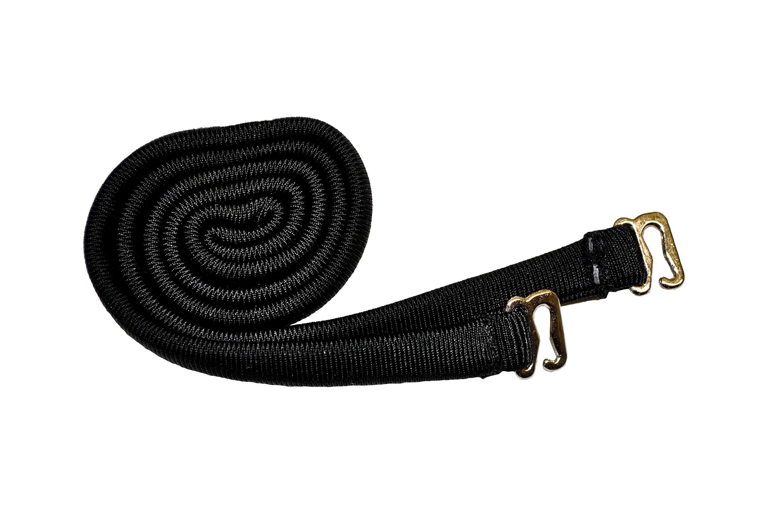 Spare Swimsuit Strap for Bikini, Bandeau, or Tankini,Small,Jet Black