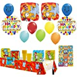 Dr. Seuss Party Supply and Balloon Decoration Bundle