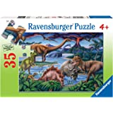 Ravensburger Dinosaur Playground Puzzle 35pc,Children's Puzzles