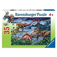 Ravensburger Dinosaur Playground Puzzle 35pc,Children's Puzzles