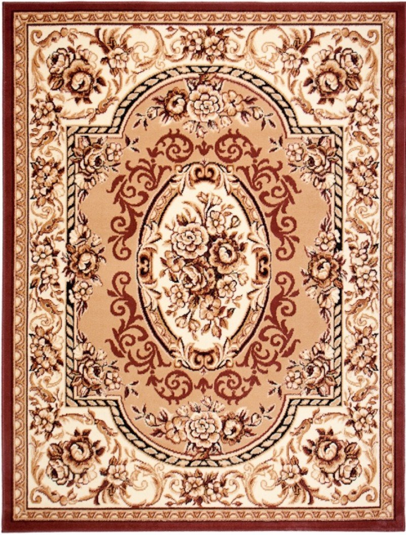 Rugs And Runners CLASSICAL Modern Nuance Designer Green Rug Soft Pile Living Room Classic Flowers Style Pattern Size S - XXL 60 x 100 cm (2ft x 3ft4) TAPISO