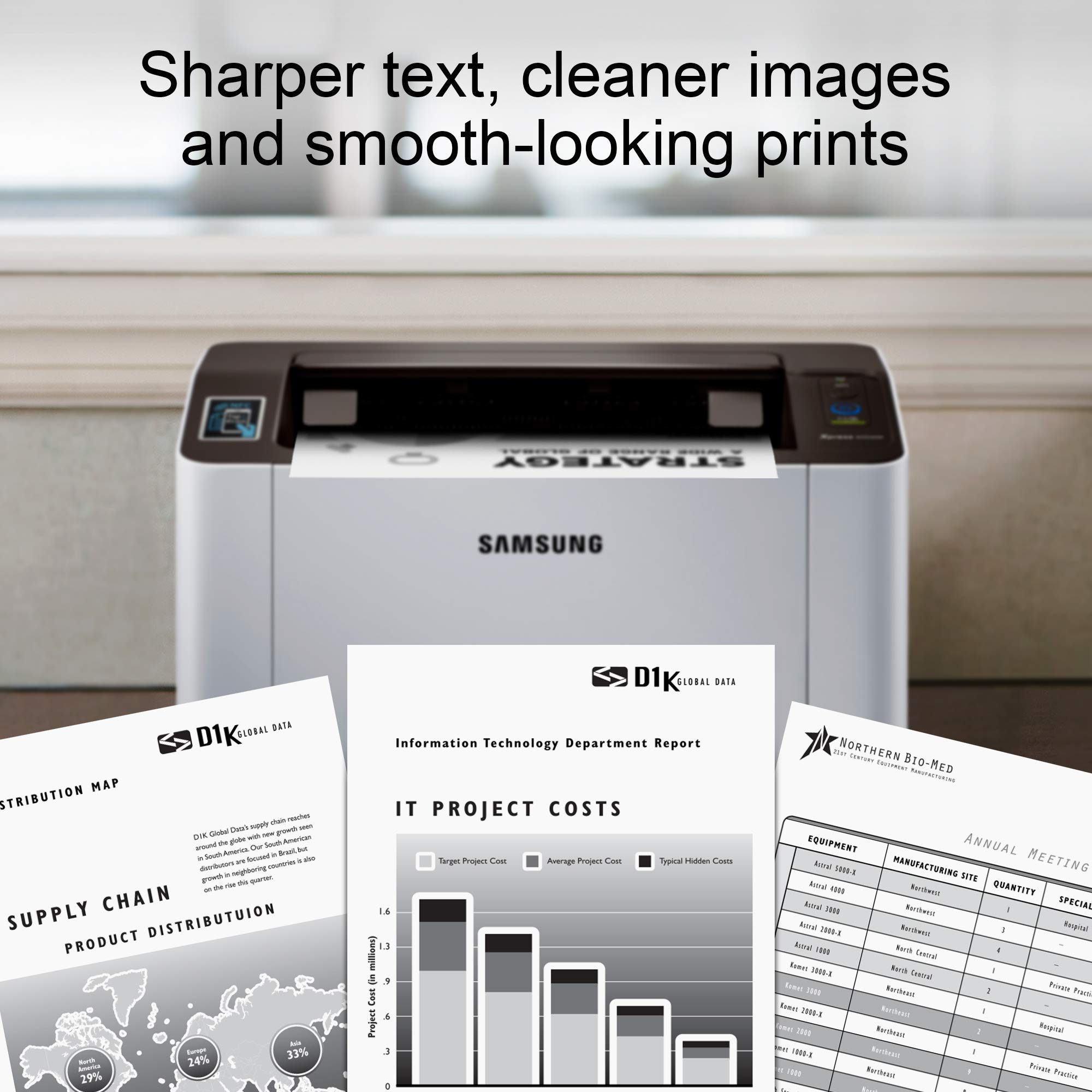 Samsung Xpress M2020W Wireless Monochrome Laser Printer with Simple NFC + WiFi Connectivity (SS272H) (Renewed) by HP (Image #8)