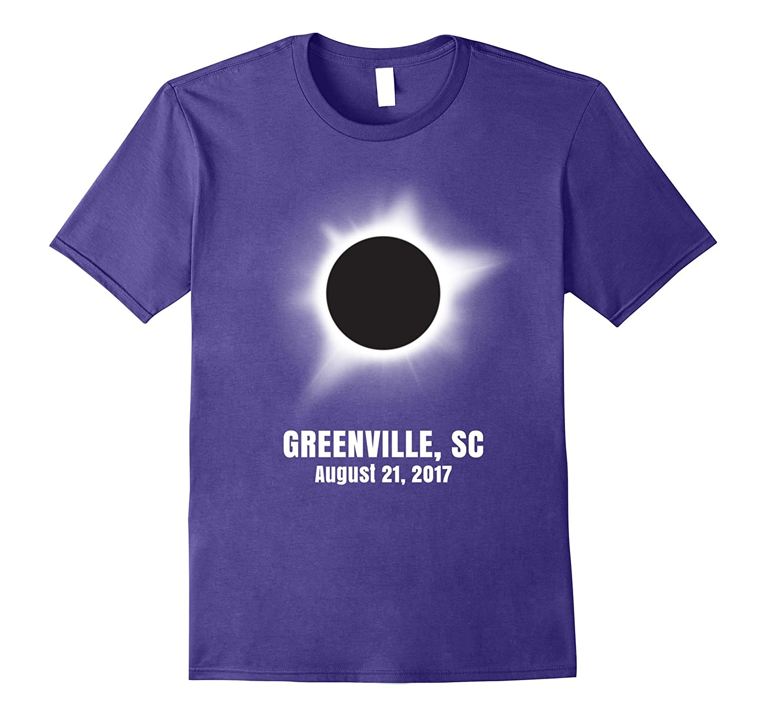 Greenville South Carolina Total Solar Eclipse T shirt-CL