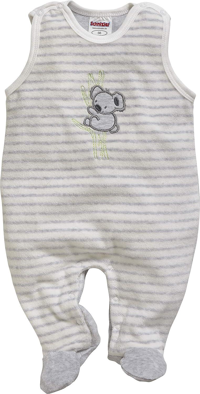 Schnizler Unisex Baby 2 tlg Strampler-Set Koala aus Nicki mit Langarmshirt