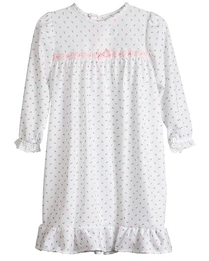 2810822398e3 Laura Dare Baby Girls Rosebud Jersey Infant Long Sleeve Pajama Nightgown