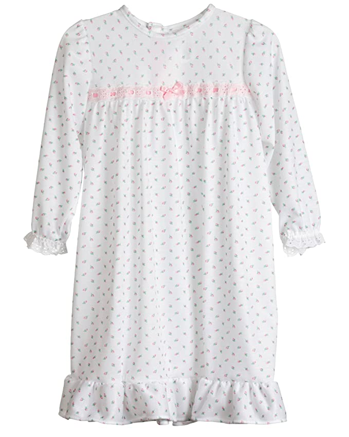 Amazon.com: Laura Dare Rosebud Girls Jersey Long Sleeve Pajama ...