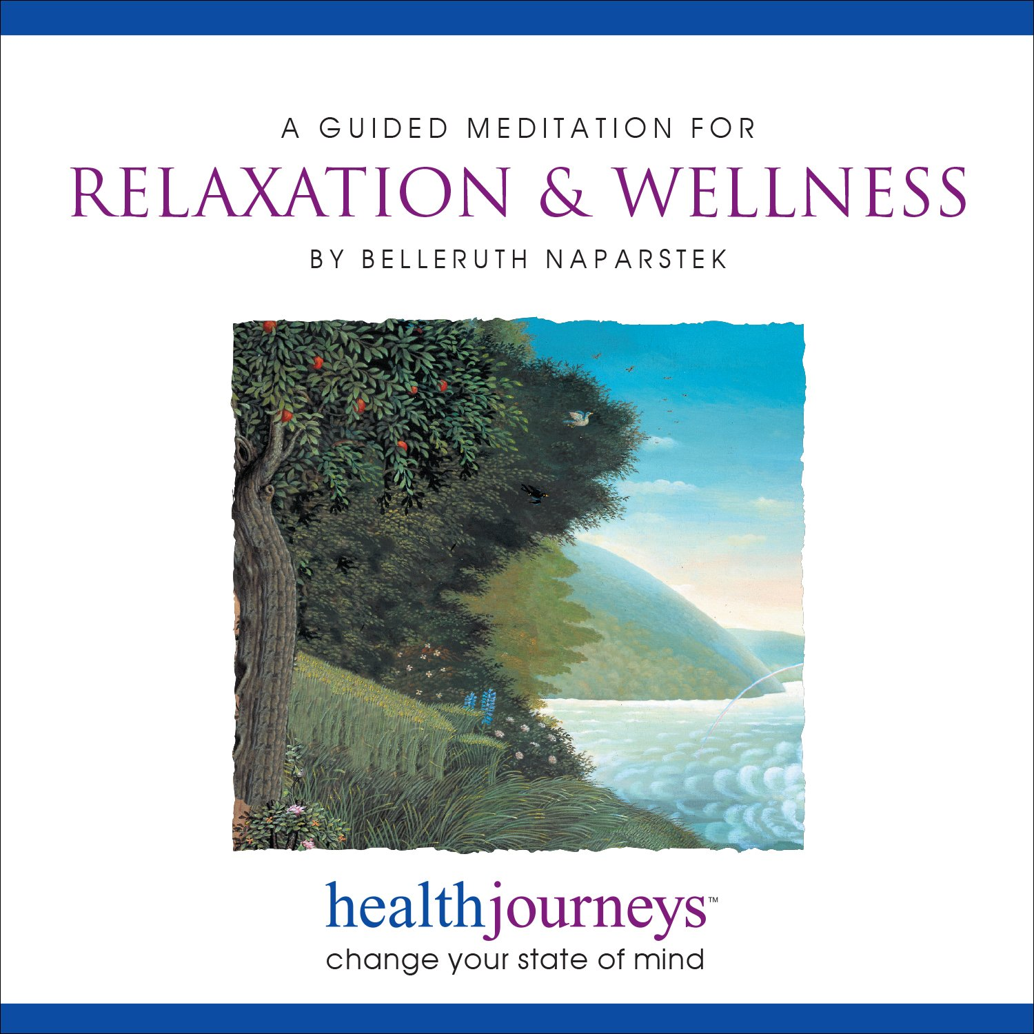 A Guided Meditation for Relaxation & Wellness -- Guided Imagery for Daily Relaxation, Facing Stressful Situations with Centered Calm, and Sustaining the Peace, Uplift and Gratitude of an Open Heart by Brand: Health Journeys