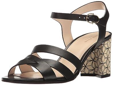 Cole Haan Womens Jianna Mid Dress Sandal Black Size 110