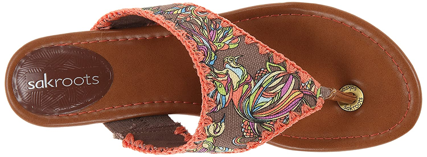Amazon.com | The SAK Women's Sakroots Shana Flip Flop, Sterling Treehouse,  6 M US | Flats