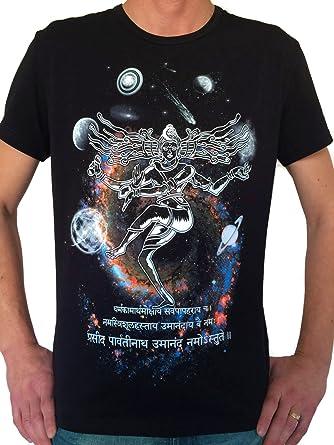OM Men/'s Tshirt UV-blacklight Psychedelic Goa Aum Ohm Yoga Psy Trance