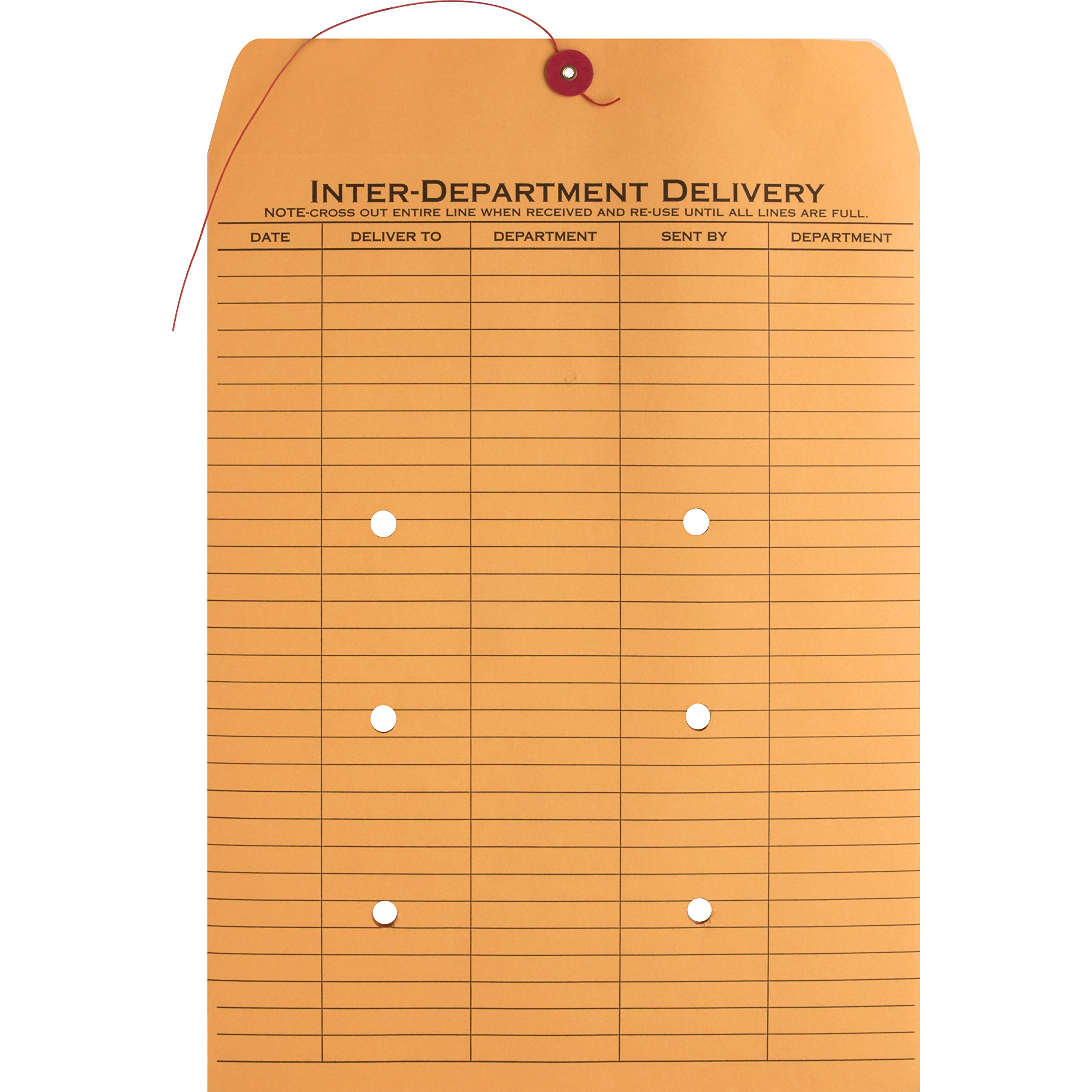 Business Source 2-Sided Inter Department Envelopes (42255) by Business Source