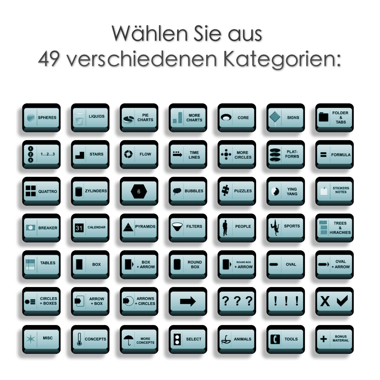 NEU: 6000 PowerPoint Vorlagen - 3D MEGA-PACK 6er CD-Set ...
